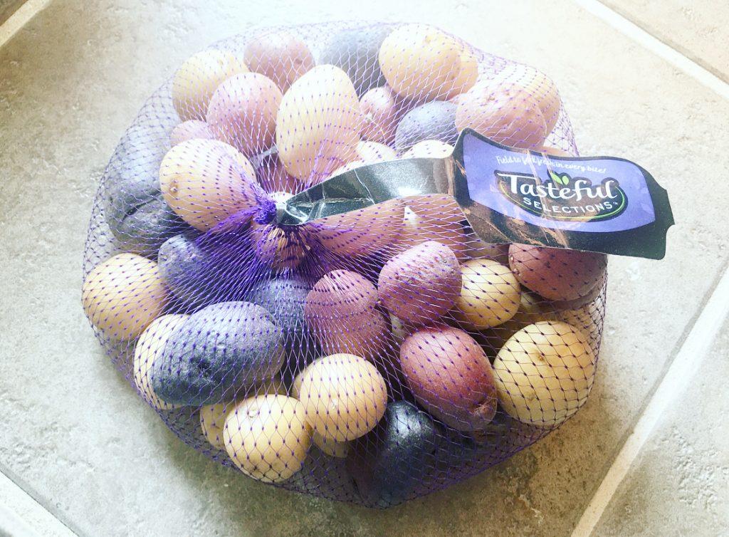 1 pound bag of rainbow potatoes
