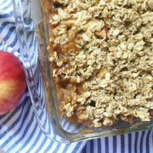 apple crisp easy