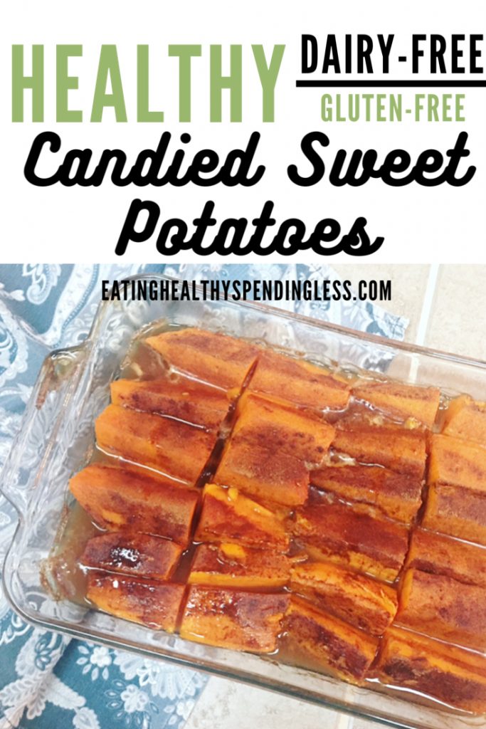 healthy candied sweet potatoes