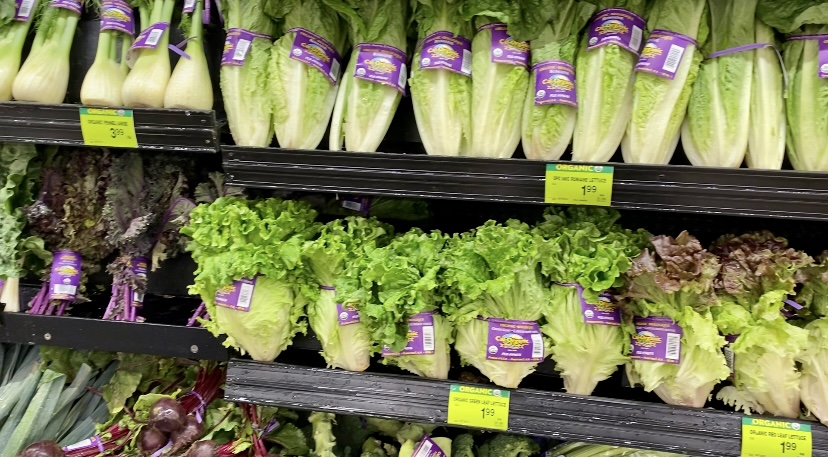 Albertsons cal-organics lettuce