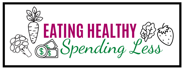 Eating Healthy Spending Less logo