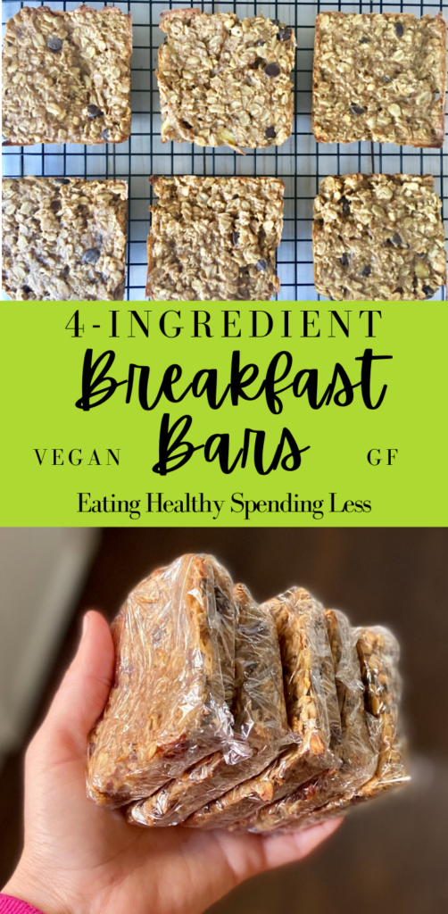 breakfast bars made with easy ingredients