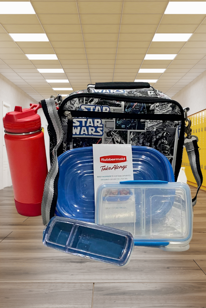 school lunch containers