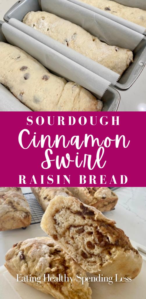 sourdough cinnamon swirl raisin bread pinterest