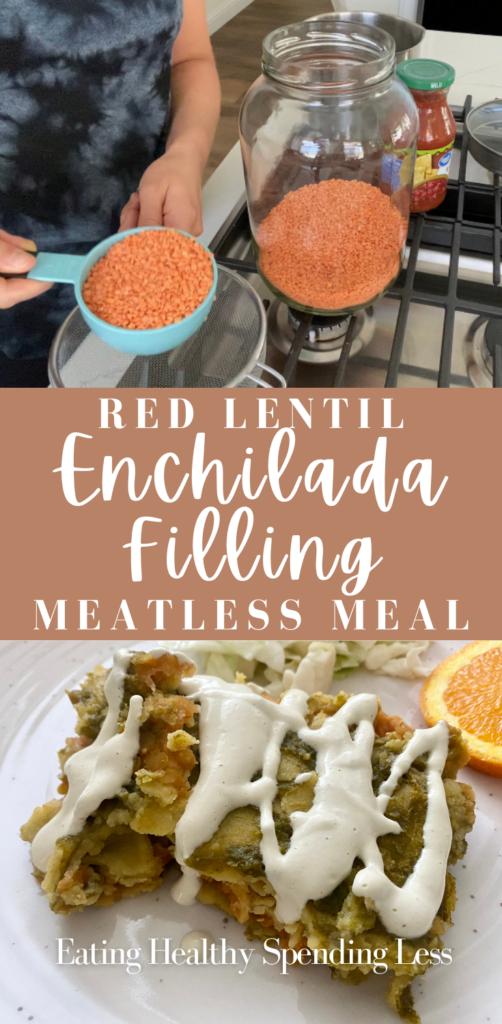 red lentil enchilada filling pinterest
